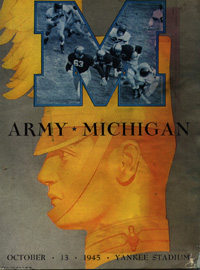 1945 Army-Michigan Program