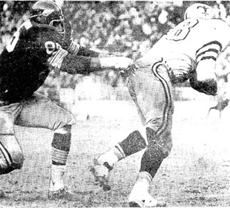1969 Saints-Redskins Action - 1