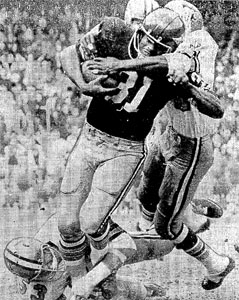 1969 Saints-Redskins Action - 2