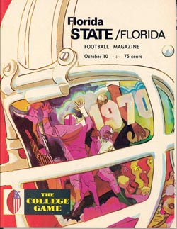 1970 FSU-Florida Program