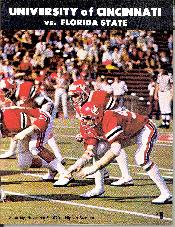 1979 FSU-Cincinnati program