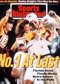 1994 Orange Bowl - SI Cover
