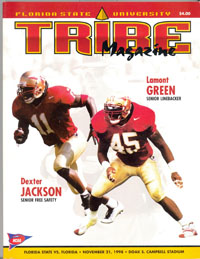 1998 Florida-FSU Program