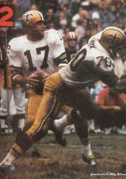 Saints QB Billy Kilmer