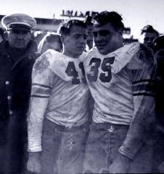 Davis & Blanchard after 1944 Navy Game