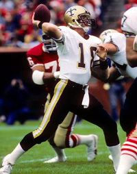 Saints QB Dave Wilson