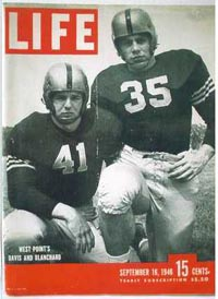 Davis & Blanchard on Cover of Life Magazine
