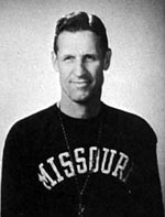 Missouri Coach Don Faurot