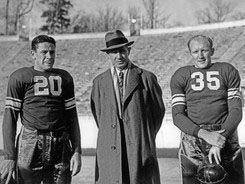 Duke Coach and Co-Captains