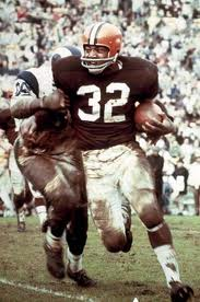 Cleveland Browns RB Jim Brown
