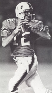 Miami QB Jim Kelly