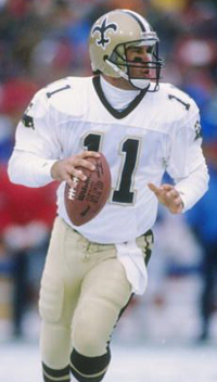 Saints QB John Fourcade ba4455c27