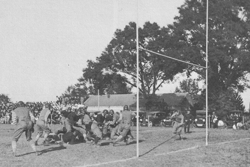 LSU Football Action 1921