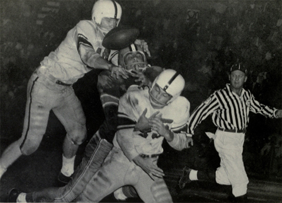 1956 LSU-Texas A&M Action - 2