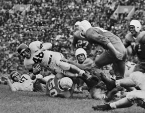 Otto Graham vs Texas