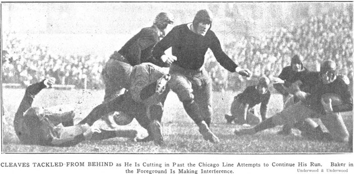 1922 Princeton-Chicago Action