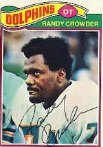 Dolphins DT Randy Crowder