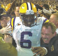 QB Rohan Davey after Auburn game 2001