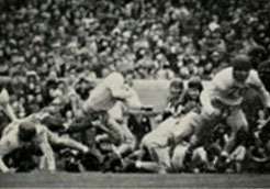 1939 Rose Bowl Action - 1
