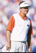 Florida Coach Steve Spurrier