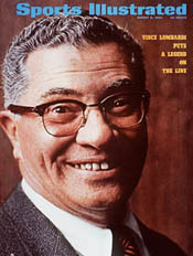 Vince Lombardi Sports Illustrated Cover