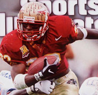 FSU RB Warrick Dunn