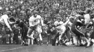 1939 Rose Bowl Action - 2