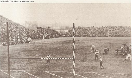 TCU Field Goal 1936 Sugar Bowl