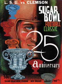1959 Sugar Bowl Program