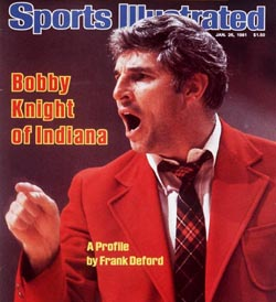 Coach Bobby Knight