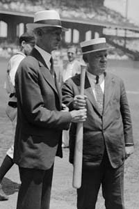 Connie Mack & John McGraw