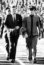 President Kennedy at 1962 Army-Navy Game