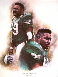 Jerome Brown, Eagles