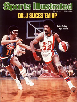 Julius Erving, New York Nets