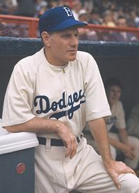 Dodgers manager Leo Durocher