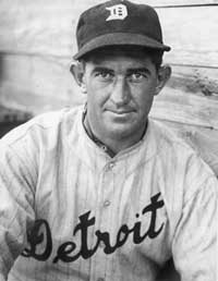 Detroit Manager Mickey Cochrane