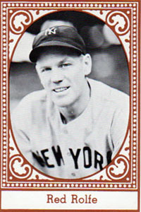 Red Rolfe, New York Yankees