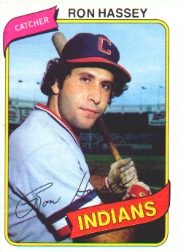 Ron Hassey, Indians