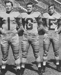 Y.A. Tittle, Ray Coates, Jim Cason