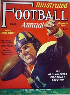 1940 Football Illustrated Annual