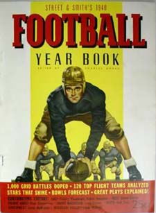 1940 Street and Smith Football Yearbook