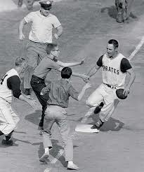 Bill Mazeroski Crosses Home