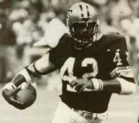 Saints RB Chuck Muncie