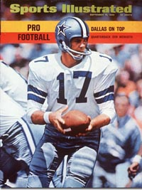 Cowboys QB Don Meredith