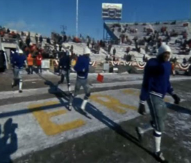 Dallas Warms Up for Ice Bowl