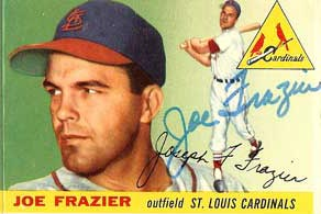 Joe Frazier, Cardinals