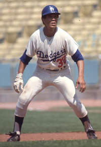 SS Maury Wills, Dodgers
