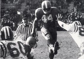Jim Brown Kicking