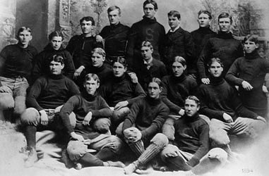 Stanford 1891-2 Football Team