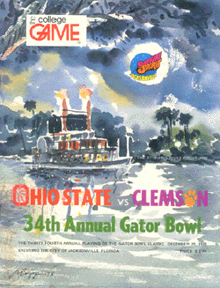 Gator Bowl Program 1978